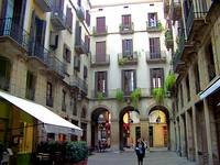 courtyard(Barcelona Spain)