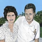 """Arlene and Neall in Australia"" by StrandStudio"