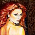 """Emerald Gaze"" by ArtlbyYelena"