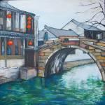 """Crossing the Bridge"" by Pamla"