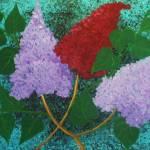 """""""3 lilacs flowers"""" by elajanus"""