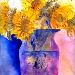 """""""Autumn Sunflowers"""" by maryanneardito"""