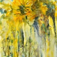 """SUNFLOWERS"" by MaryAnne Ardito"