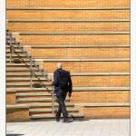 """""""Taking Stairs at Landscape Amphitheater"""" by CuriousEye"""
