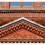 """H H Richardson Architectural Pediment"" by CuriousEye"