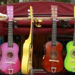 """Colorful Guitars"" by jeffgriffin"