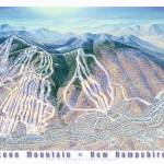 """Loon Mountain Resort, New Hampshire"" by jamesniehuesmaps"
