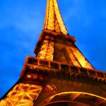 """EE-017 Eiffel Tower Lights"" by marywhitmer"