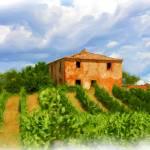 """EE-021 Tuscan Hillside"" by marywhitmer"