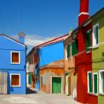 """EE-029 Colored Buildings"" by marywhitmer"