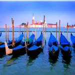 """EE-024 Gondolas in the Early Evening"" by marywhitmer"