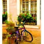 """EE-018 Bicycle in Trier"" by marywhitmer"
