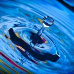 """Blue Drop 0357"" by cpsphoto"