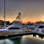 """""""Harbour Town at Twilight"""" by blance"""