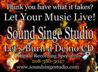 Sound Singe Studio Promo Art