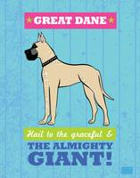 Great Dane Blue/Green