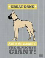 Great Dane Gray/Gold