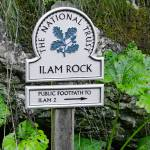 """Ilam Rock Sign, Dovedale (30278-RDA)"" by rodjohnson"