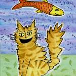 """Cat Fish Resist"" by melsky"