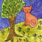 """Cat on a Hill"" by melsky"