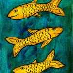 """Three Fish"" by melsky"