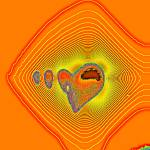 """Fractal Heart"" by artofbeing"