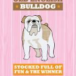 """Bulldog Pink/Orange"" by Nose2Tales"