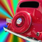 """36 Rainbow Chevy #100724_042sqc.1g"" by anselprice"