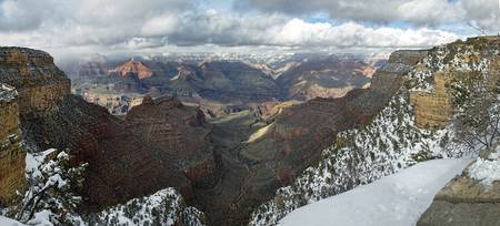 Winter Storm at the Grand Canyon