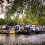 """Moored Up boats HDR"" by InspiraImage"