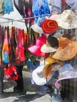 Hats and Purses at Street Fair