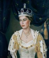 Portrait of Queen Elizabeth II by Lydia de Burgh