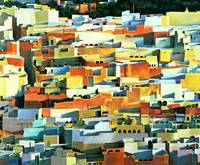 North African Townscape by Robert Tyndall