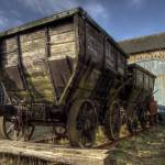 """HDR Old Coal Carts"" by raypritchard"