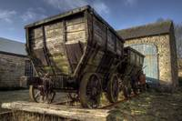 HDR Old Coal Carts