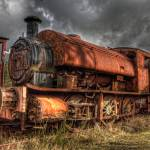 """HDR Old Steam Train"" by raypritchard"