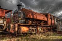 HDR Old Steam Train