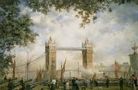 Tower Bridge: From the Tower of London by R. Willi