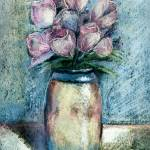 """Vase Of Pink Tulips"" by awagner"