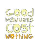 """Good Manners • Sunny"" by Logophilia"
