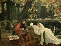 A Convalescent by James Jacques Joseph Tissot