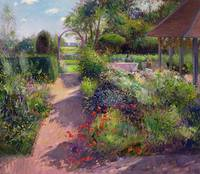 Morning Break in the Garden by Timothy Easton