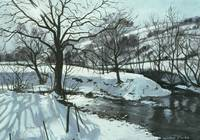 Winter River by John Cooke