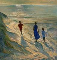 Beach Walk by Timothy Easton