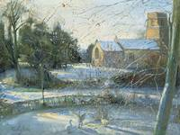 The Frozen Moat, Bedfield by Timothy Easton