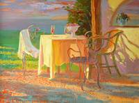 Evening Terrace by William Ireland