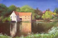 Springtime at the Mill by Anthony Rule