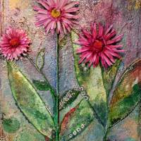 Crimson Flowers Art Prints & Posters by Ramaelas World