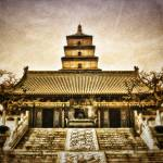 """Big Wild Goose Pagoda"" by Bendinglife"