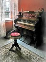 Organ With Petit Point Stool